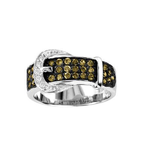 Kelly Herd Buckle Ring