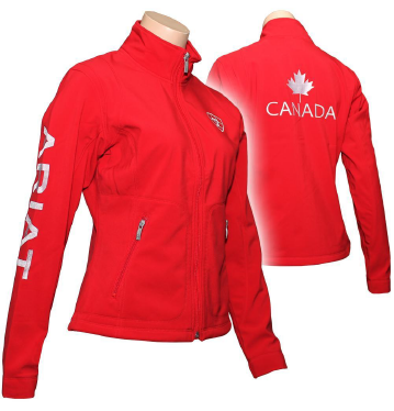 Ariat Team Canada Soft Shell Jacket - Greenhawk Vancouver Island