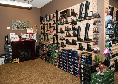 Footwear section