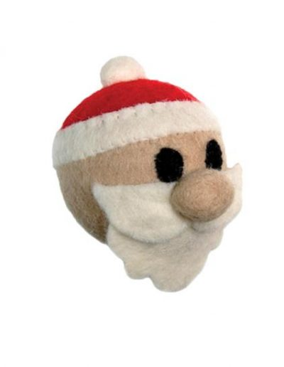 RC PET WOOLY WONKS SANTA CLAUS