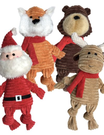 foufou HOLIDAY KNOTTED TOYS